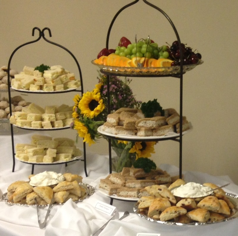 3-tier plate stands