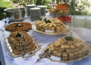 tea party buffet