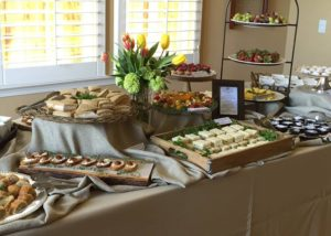 savory, sweets buffet-catered