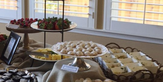 Sweets Buffet Style